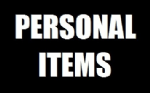 Dimensions 2014 Personal Items